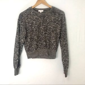 COLSIE Charcoal Gray Cozy Pullover Sweater